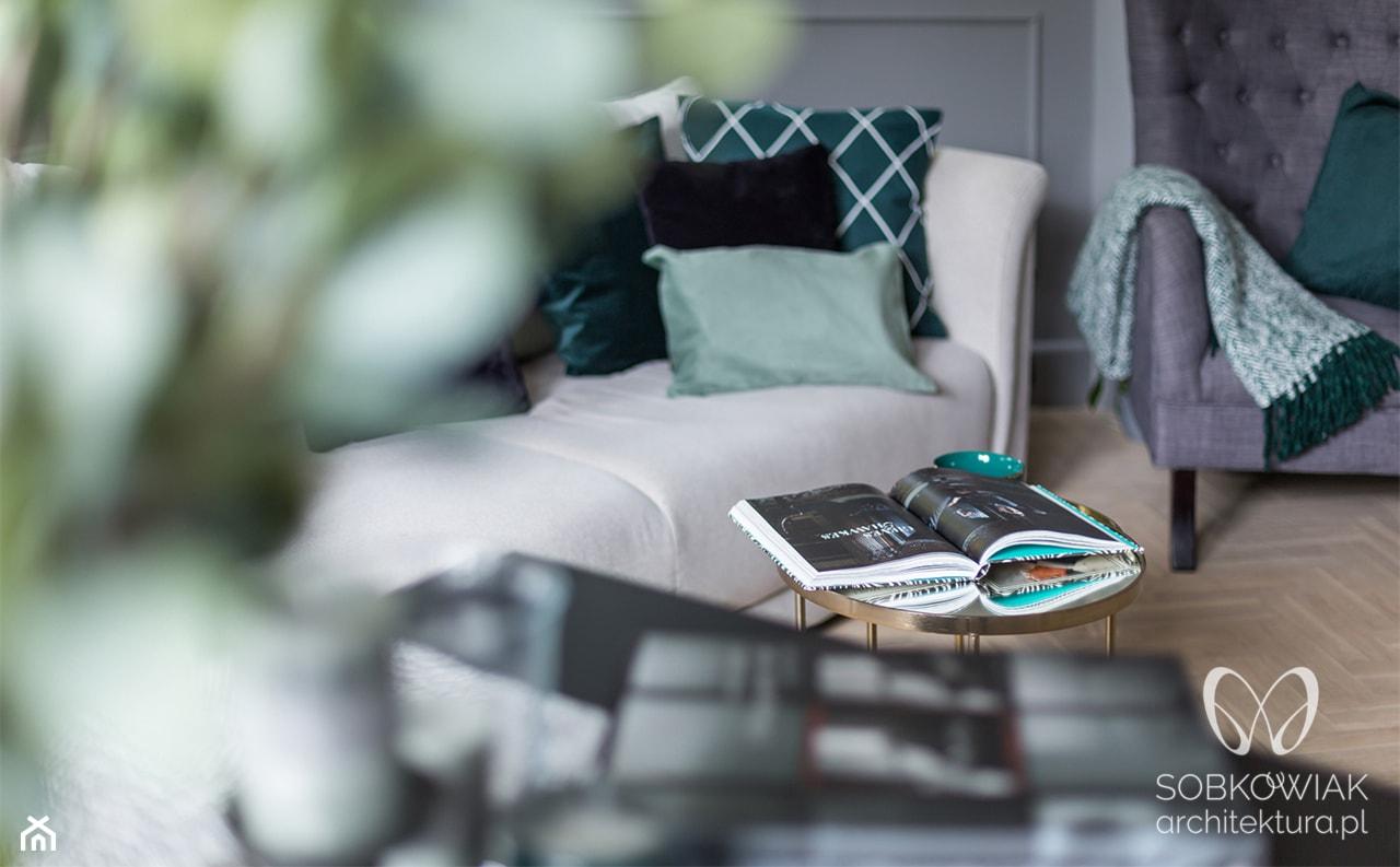 Salon w stylu klasycznym - zdjęcie od Sobkowiak Architektura - Homebook