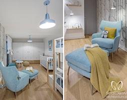 Bia%C5%82a+sypialni+dzieci+w+skandynawskim+stylu+-+zdj%C4%99cie+od+Sobkowiak+Architektura