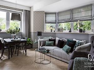 Kompaktowe mieszkanie w stylu klasycznym