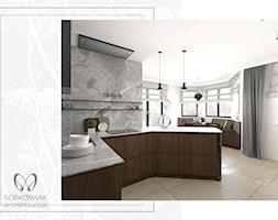 Klasyczne wnętrze podwarszawskiego domu jednorodzinnego - Kuchnia, styl klasyczny - zdjęcie od Sobkowiak Architektura - Homebook