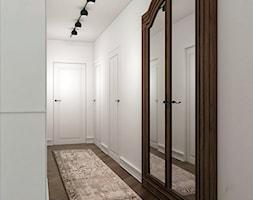 Wnętrze w stylu vintage na warszawskiej Pradze - Duży biały hol / przedpokój, styl vintage - zdjęcie od Sobkowiak Architektura