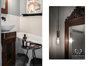 detale w stylowej łazience - zdjęcie od Sobkowiak Architektura