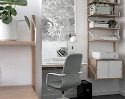 Małe biuro na Warszawskiem Powiślu, po drugiej stronie lustra - zdjęcie od Sobkowiak Architektura