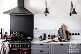 Szare meble w klasycznej kuchni - zdjęcie od Sobkowiak Architektura - homebook