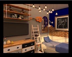 pokoj+z+gitara+-+zdj%C4%99cie+od+Merlin+Pastel+-+Projektowanie+Wn%C4%99trz