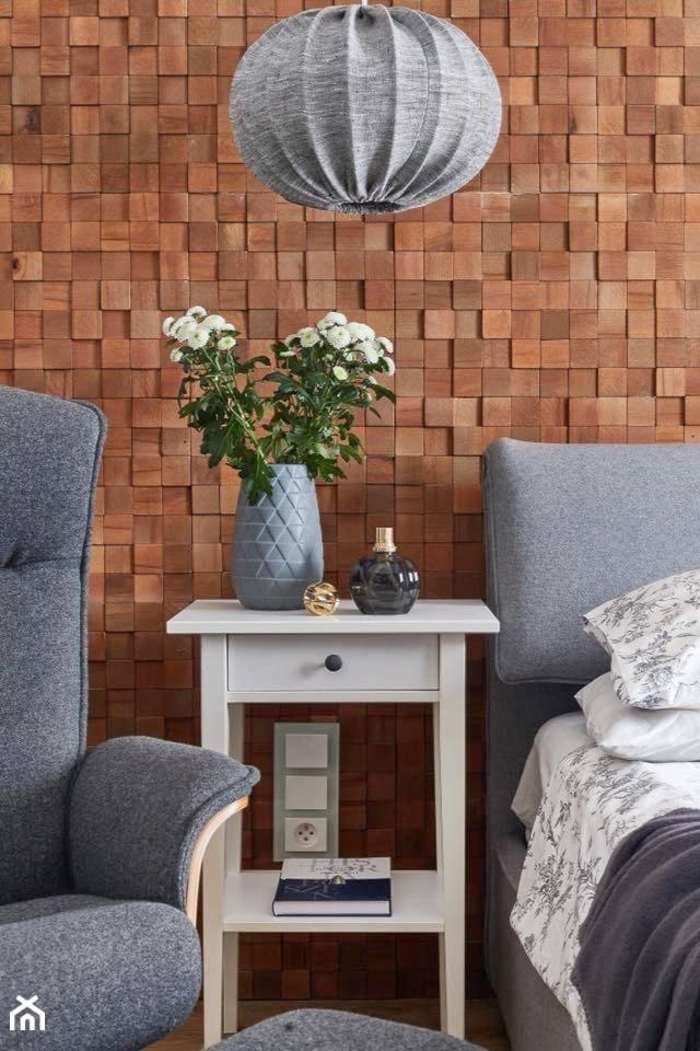 Dom gościnny pod Warszawą - Sypialnia, styl nowoczesny - zdjęcie od Pracownia Oso - Homebook