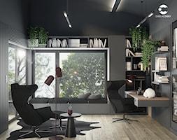 Biuro_wysokie pomieszczenie - zdjęcie od ProjecTOWN Izabela Czado - Homebook