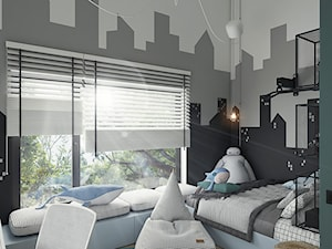 Pokój dla chłopca_wysokie pomieszczenie