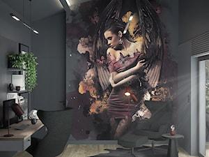 Biuro_wysokie pomieszczenie