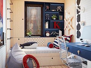 Marynarski pokój  dla chłopca