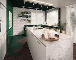 Zielona+kuchnia+-+zdj%C4%99cie+od+ProjecTOWN+Izabela+Czado