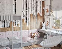 Leśny pokój dla dziewczynki - zdjęcie od ProjecTOWN Izabela Czado