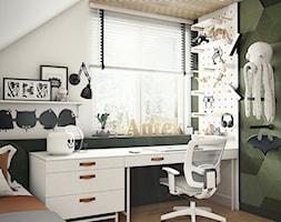 Pokój dla chłopca_w zieleni i karmelu - zdjęcie od ProjecTOWN Izabela Czado - Homebook