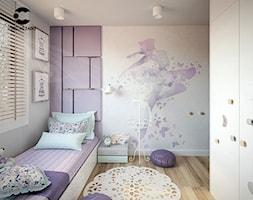 Dziewczęcy pokój dla małej projektantki mody - zdjęcie od ProjecTOWN Izabela Czado