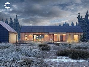 Projekt domu i wnętrz w stylu skandynawskim