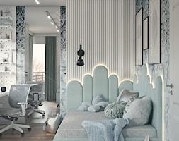 Pokój dla dziewczynki_w kolorach mięty i błekitu - zdjęcie od ProjecTOWN Izabela Czado - Homebook
