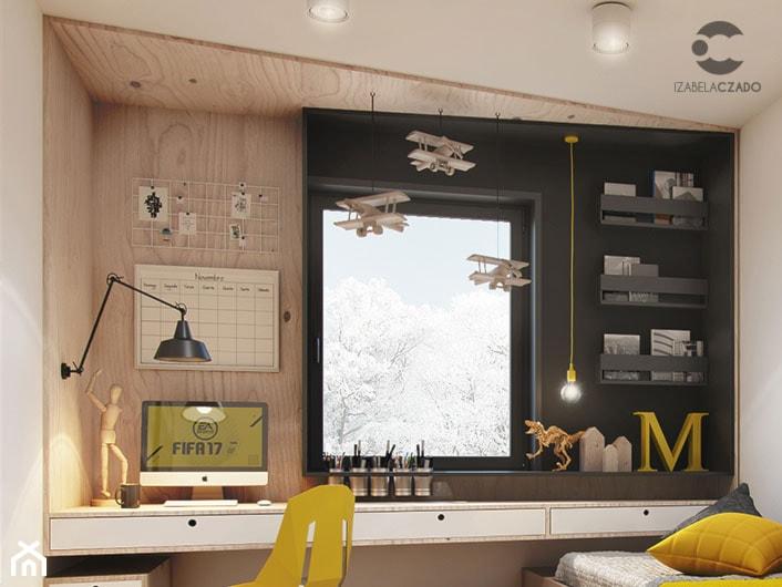 Pokój dla nastolatka - zbliżenie - zdjęcie od ProjecTOWN Izabela Czado