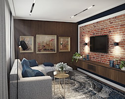 Salon w stylu eklektycznym - zdjęcie od ProjecTOWN Izabela Czado - Homebook