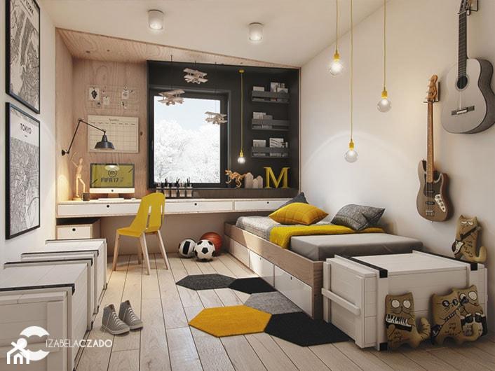 Pokój dla nastolatka - zdjęcie od ProjecTOWN Izabela Czado