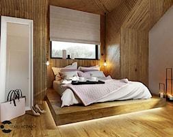 Sypialnia w stylu nowoczesnym - zdjęcie od ProjecTOWN Izabela Czado