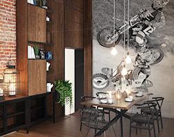 Salon w stylu loftowym - zdjęcie od ProjecTOWN Izabela Czado - Homebook