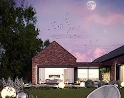 Dom w cegle - zdjęcie od ProjecTOWN Izabela Czado - Homebook
