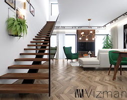Salon+w+stylu+modern+retro+-+zdj%C4%99cie+od+Vizman+Design