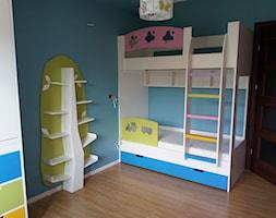 łózko piętrowe darstol - zdjęcie od łóżka na antresoli - darstol
