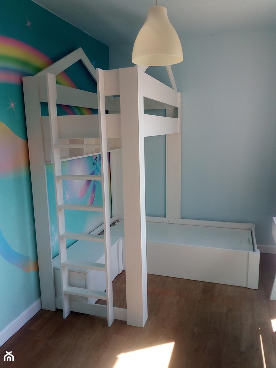łóżko piętrowe darstol - zdjęcie od łóżka na antresoli - darstol