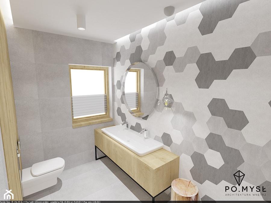 Płytki Heksagonalne W łazience Zdjęcie Od Pomysł Homebook