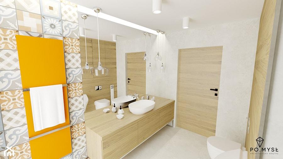 Duże Lustro W łazience Zdjęcie Od Pomysł Homebook