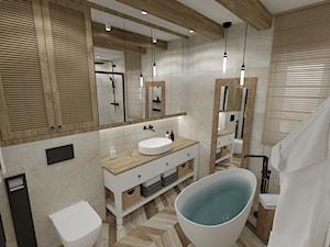 RUSTIC • projekt łazienki.