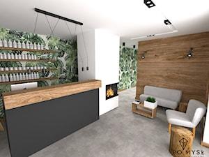 MONSTERA • projekt salonu kosmetycznego.