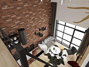 MINI LOFT • mieszkanie z antresolą.