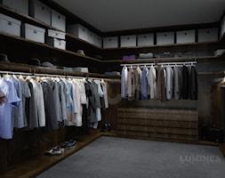 Nowoczesna garderoba - zdjęcie od Lumines Lighting