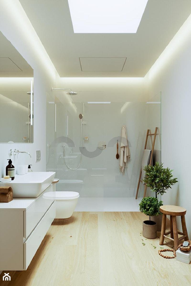 łazienka Z Sufitem Podwieszanym Zdjęcie Od Lumines