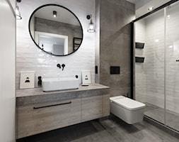 StareNoweŹegrze - Średnia łazienka w bloku w domu jednorodzinnym bez okna - zdjęcie od 2Form
