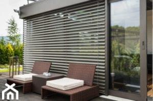 Żaluzje fasadowe - zdjęcie od Dekoracje okienne by Dortex