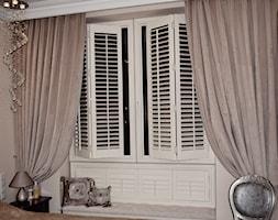 Sypialnia w pałacowym stylu SHUTTERS - zdjęcie od Idea Shutters - Homebook
