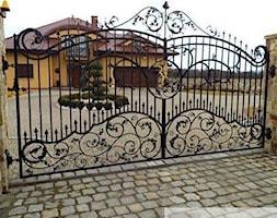 Brama+wjazdowa+-+zdj%C4%99cie+od+Graupanel+-+bramy%2C+ogrodzenia+i+automatyka