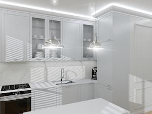 Nowojorska elegancja - Kuchnia, styl nowojorski - zdjęcie od oaky studio