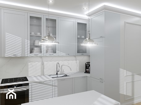Aranżacje wnętrz - Kuchnia: Nowojorska elegancja - Kuchnia, styl nowojorski - Vzorovo. Przeglądaj, dodawaj i zapisuj najlepsze zdjęcia, pomysły i inspiracje designerskie. W bazie mamy już prawie milion fotografii!