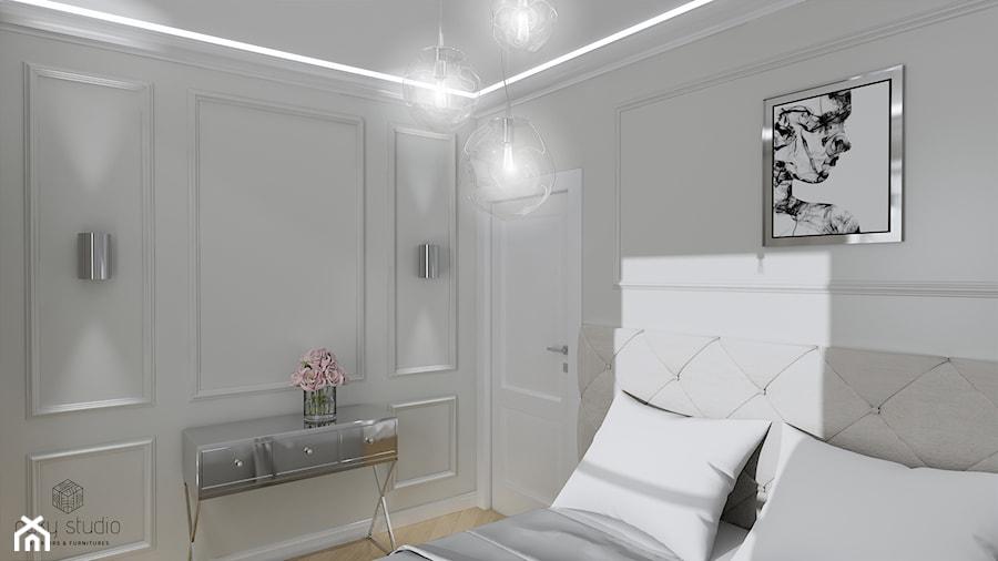 Nowojorska elegancja - Sypialnia, styl nowojorski - zdjęcie od oaky studio