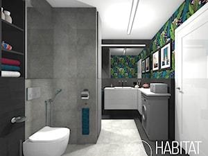 Kahlo / Projekt łazienki w stylu eklektycznym. - zdjęcie od HABITAT DESIGN Magdalena Ślusarczyk