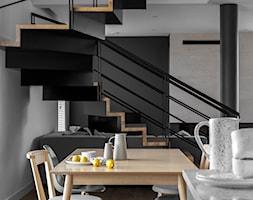 Dom jednorodzinny 190m2 - Schody, styl skandynawski - zdjęcie od paulaselerowicz.pl - Homebook