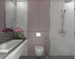 Łazienka z prysznicem - zdjęcie od Aleksandra Mółka - Homebook