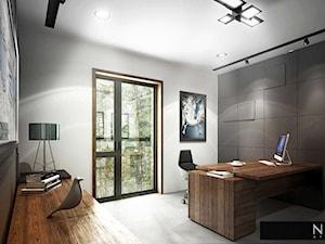 NINE ATELIER - wnętrza biurowca we Wronkach - zdjęcie od NINE ATELIER | Architekt Poznań | Architekt wnętrz Poznań