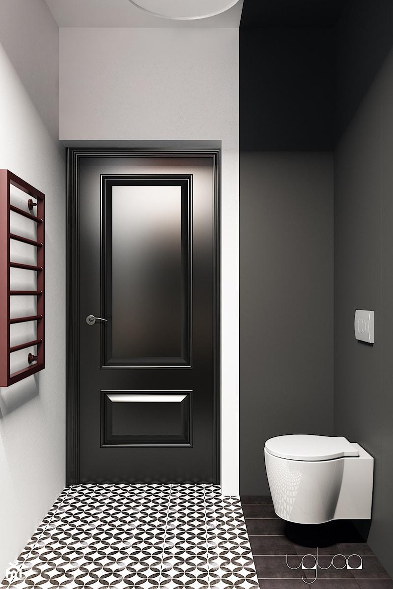 Łazienka w kolorach bieli i czerni - zdjęcie od igloo studio