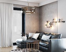 Beton w industrialnym salonie - zdjęcie od igloo studio - Homebook