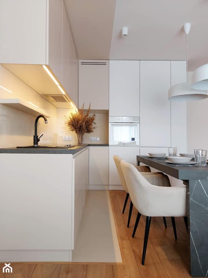beżowa kuchnia - zdjęcie od igloo studio